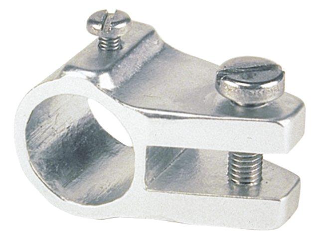 Middenstuk 20 mm, aluminium
